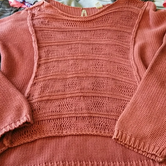 Bke Sweaters Womens Burnt Orange Sweater Poshmark